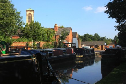 Canal and St Barnabus