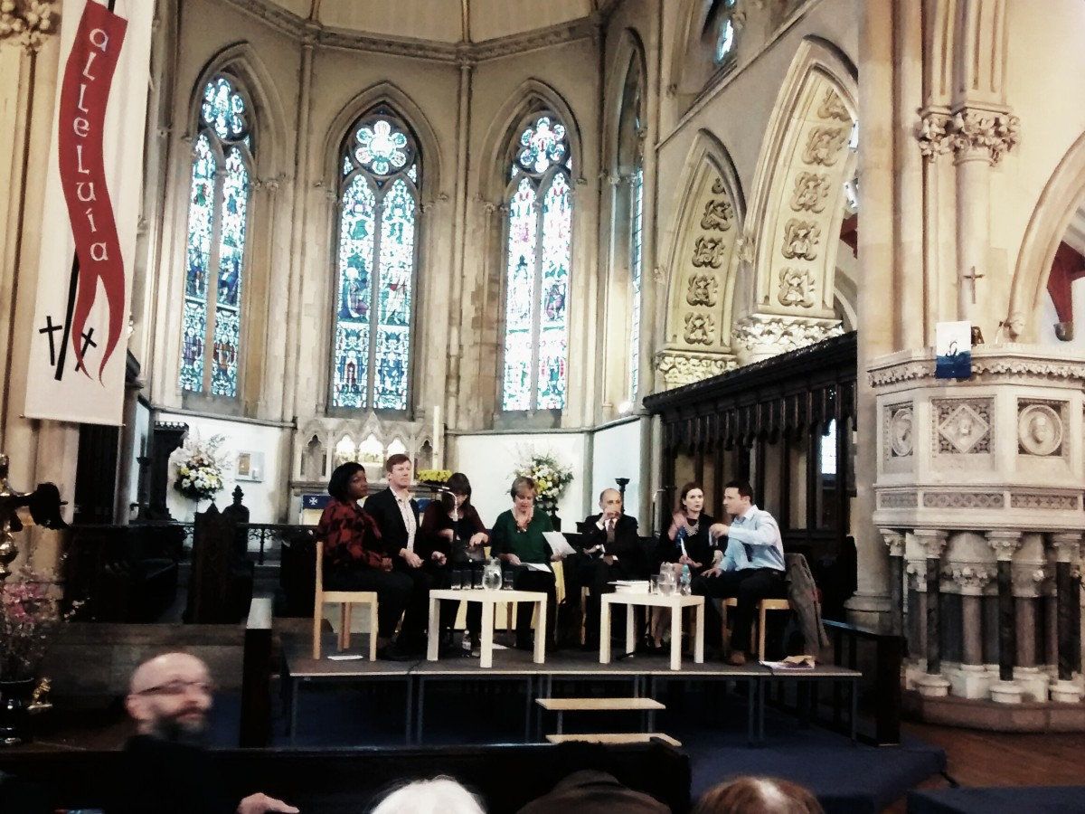 The hustings panel