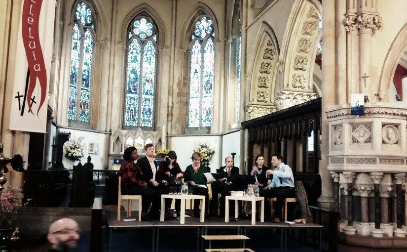 """""""I can't ride a bike!"""" And other notes from Hackney North hustings, Tuesday 28 April2015"""