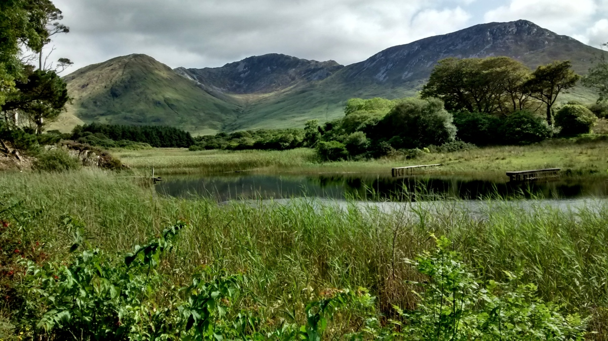 Nr Kylemore Abbey