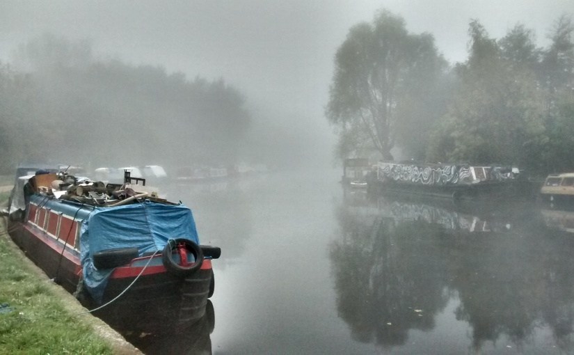 Fog on the Lee Valley, 1 November 2015