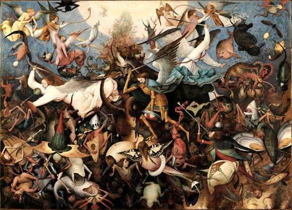 The Fall of the Rebel Angels (Bruegel)